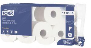 Тоалетна хартия на ролка Tork Rolls LUX