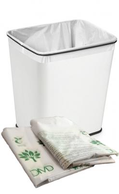 Биоразградими чували за смет, 40 х 40 см, 10 литра, 1000 бр.