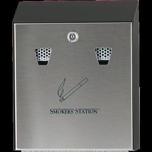 Пепелник SMOKERS STATION BLACK