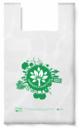 Биоразградима торбичка тип ПОТНИК, 34 х 40 см, 2000 бр.